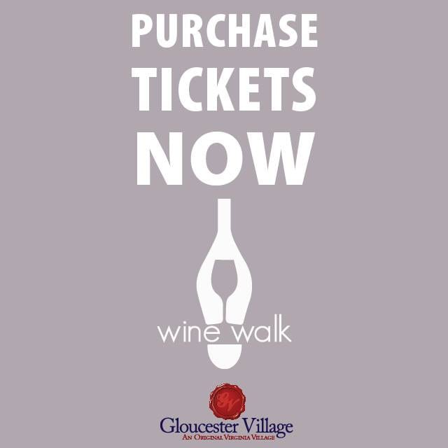 Purchase Wine Walk tickets flyer