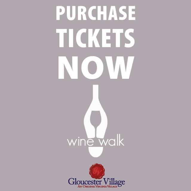 Purchase Wine Walk tickets flyer