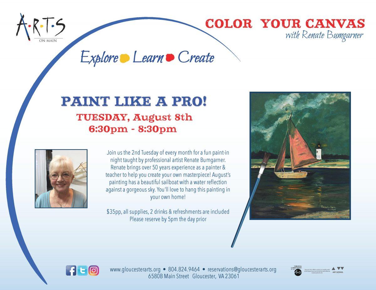 Color Your Canvas