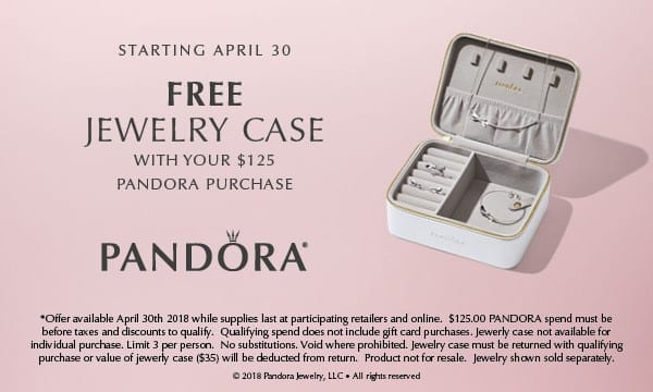 The Silver Box Free Jewelery Case flyer