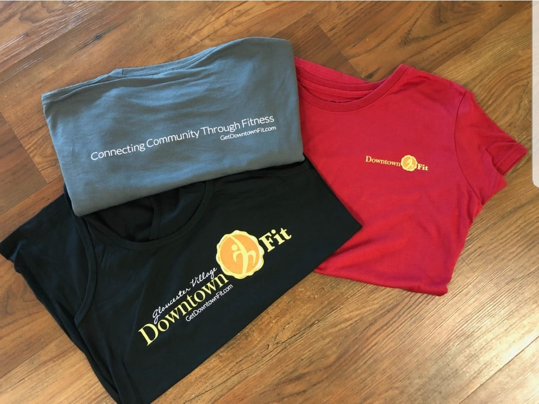 pic of Downtown Fit tshirts