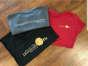 pic of Downtown Fit shirts