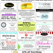 Main Street Merchants flyer