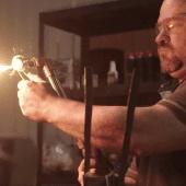 photo of blacksmith working