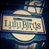 pic of Lulu Birds Kitchen sign