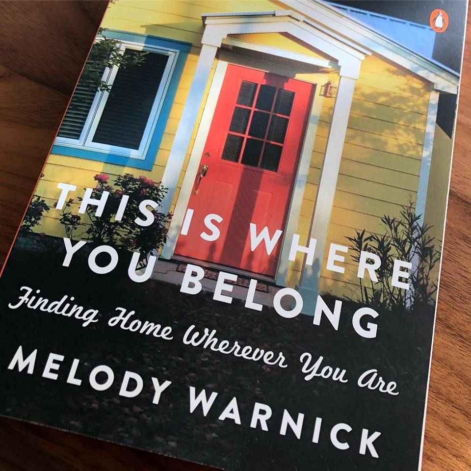 This is Where You Belong book cover by Melody Warnick