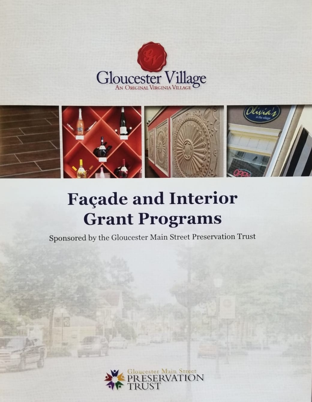 Cover of the grant booklet