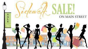 logo for sidewalk sale