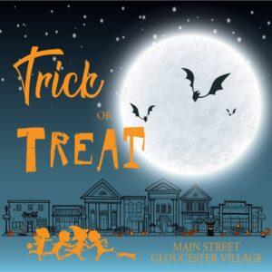 Logo for Gloucester Main Street Trick or Treat